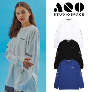 [AQOSTUDIO] AQO EXPLORER LONG SLEEVE T-SHIRTS 3COLOR