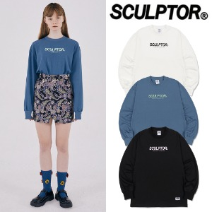 [SCULPTOR] S/LOGO LONG SLEEVES 3COLOR