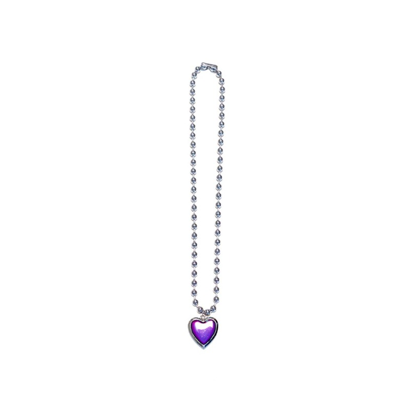 [NiROSERENDIPITY] HEART TEMPERATURE CHANGE NECKLACE