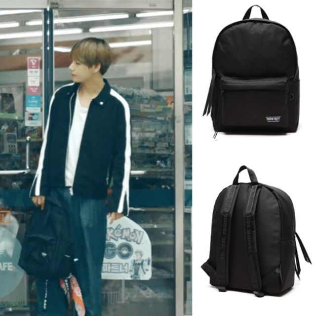 CANVASBAG BLACK _BTS