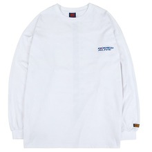 [BURIEDALIVE] BA NEW LOGO LONG SLEEVE WHITE