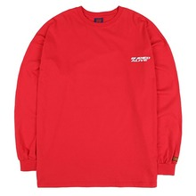 [BURIEDALIVE] BA NEW LOGO LONG SLEEVE RED