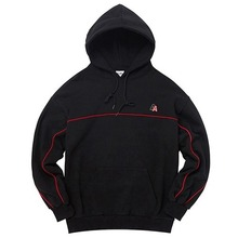 [AKIIICLASSIC] A-LABEL DOUBLE PIPING HOOD BLACK