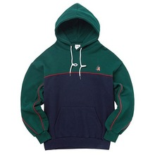 [AKIIICLASSIC] A-LABEL DOUBLE PIPING HOOD GREEN
