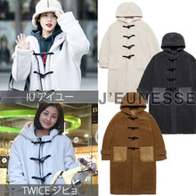 [JEUNESSE] LAMB DUFFLE COAT 3COLOR_TWICE_IU