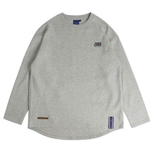 [ROMANTICCROWN] 2009 FLAG LONG SLEEVE GREY_SEVENTEEN ホシ