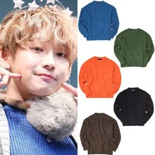 [OOD] R-NECK PLAIN KNIT 4COLORS_JBJ