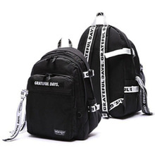 [UNIONOBJET]3D MESH BACKPACK M03 (WHITE BLACK)_IZONEチョ・ユリ着用
