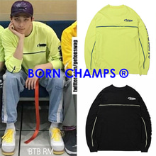 [BORN CHAMPS]BC CMPS LS TEE 2COLOR_BTS