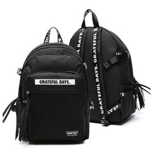 3D MESH BACK PACK M02 BLACK