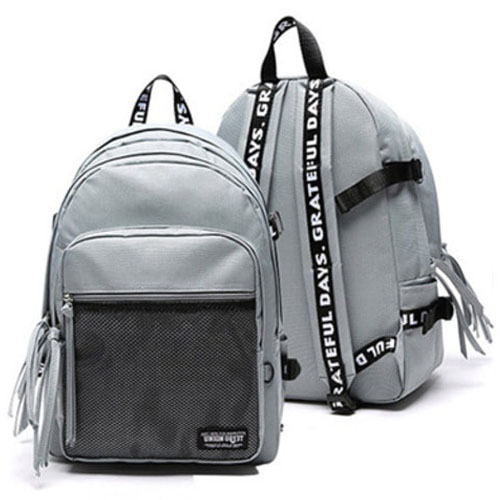 3D MESH BACK PACK GRAY