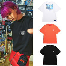 [BURIEDALIVE] BA X FLUSH STAND-UPRIGHT T-SHIRT 3COLOR