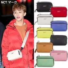 [STRETCH ANGELS]PANINI metal logo solid bag 9COLORS_NCT MAMAMOO OH MY GIRL