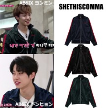 [SHETHISCOMMA] STC VELOUR JERSEY 3COLOR_AB6IX