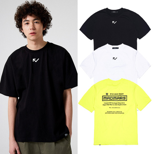 [MADMARS] MISSED CALL T-SHIRT 3COLOR
