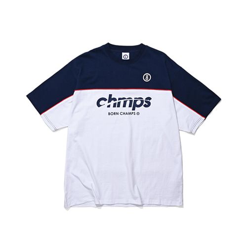 [BORNCHAMPS] TWO BLOCK LINE TEE CESBMTS04NA