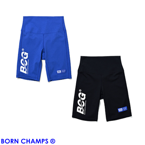 [BORNCHAMPS] BCG HALF LEGGINGS CESBGTP01 2COLOR