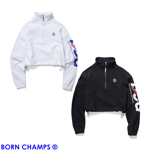 [BORNCHAMPS] BCG HALF ZIP UP CESAGMT01 2COLOR