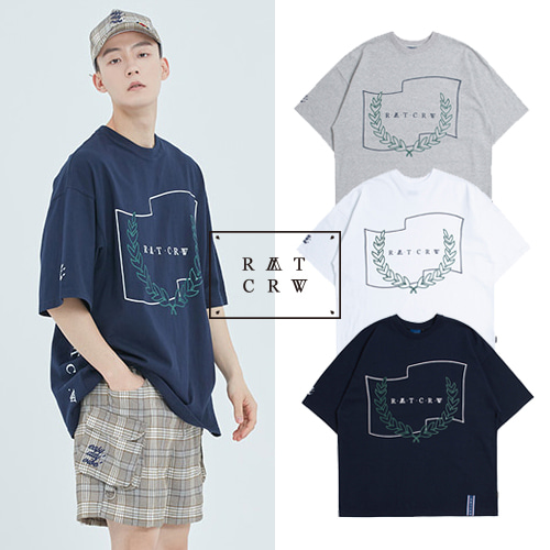 [ROMANTICCROWN] RMTCRW INSIDE T SHIRT 3COLOR_TWICE