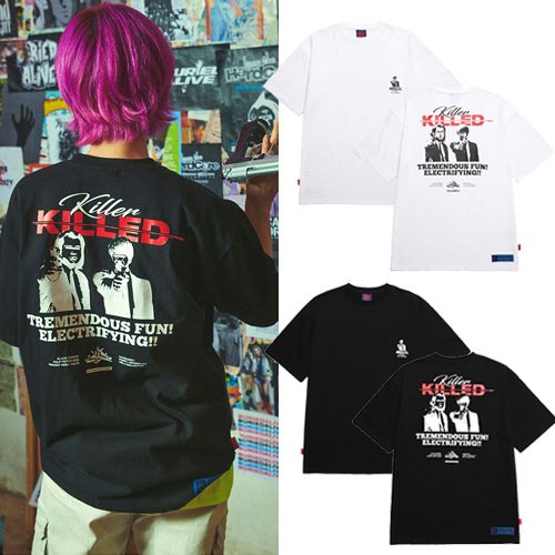 [BURIEDALIVE] BA KILLED TEE 2COLOR