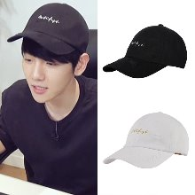 [MOTIFEST]GARMENTS SCRIPT CAP DISTRESSED VER._EXO ベッキョン