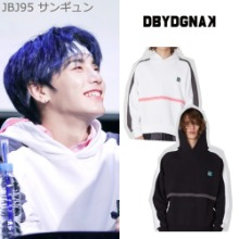 [DBYDGNAK] HOLOGRAM HORIZON HOODY 2COLOR_JBJ95