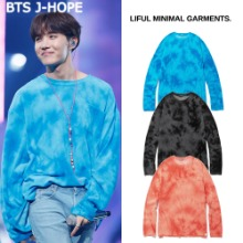 [LIFUL] TIE DYE TERRY L/S TEE 3COLOR_BTS