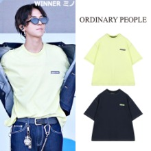[ORDINARY PEOPLE] ORDINART STITCH POINT T-SHIRT 2COLOR_WINNER