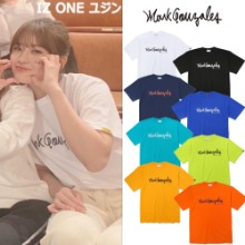 [MARK GONZALES] M/G SIGN LOGO T-SHIRTS 8COLOR_IZ ONE