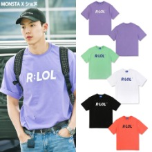 [ROLAROLA] RLOL BASIC T-SHIRT 5COLOR_MONSTA X
