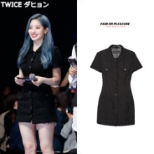 [PAINORPLEASURE] DENIM ONEPIECE JACKET_TWICE