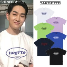 [TARGETTO] CIRCLE LOGO T SHIRT 6COLOR_SHINEE