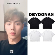 [DBYDGNAK] 12 EMBROIDERY T-SHIRT_MONSTA X