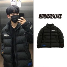 [BURIEDALIVE] BA BRIDA PADDING JACKET BLACK_EXO_REDVELVET