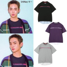 [ORDINARY PEOPLE] ORDINARY SHORT SLEEVE LAYERED MTM SHIRT 3COLOR_SHINEE