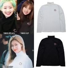 [DXOH] FACE TURTLENECK 2COLOR_TWICE