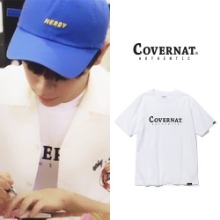 [COVERNAT] SS AUTHENTIC LOGO TEE WHITE_PRODUCEX101