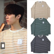 [DXOH] STRIPE T-SHIRT 3COLOR_TWICE_PRODUCE_EXO