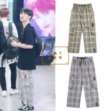 [ROMANTICCROWN] CHECK POCKET ANKLE PANTS 2COLOR_PRODUCE X 101