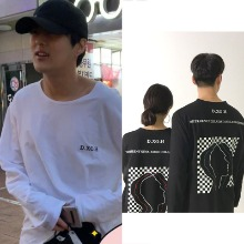 [DXOH] FACE CHECK LONG SLEEVE_PRODUCEX