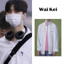 [WAIKEI] STEADY_LINEN SHIRTS WHITE_NCT