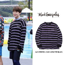 [MARKGONZALES] M/G LONG SLEEVE TEE BLACK_BTS