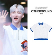 [OTHERSIDE] ZIP-UP TENNIS T-SHIRT_AB6IX