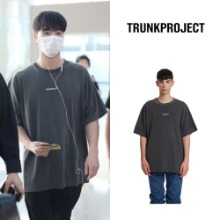 [TRUNKPROJECT] RIPPED HOLE PIGMENT T-SHIRTS_IKON