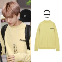 [DUNST]  UNISEX MOCK-NECK LOGO SWEATSHIRT 4COLOR_NCT