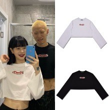 [HIGHSCHOOLDISCO] DEVIL LONG SLEEVE CROP 2COLOR