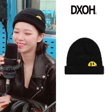 [DXOH] YELLOW SMILE BEANIE 2COLOR_TWICE
