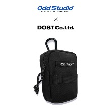 [ODDSTUDIO] ESSENTIAL SMALL POUCH BLACK