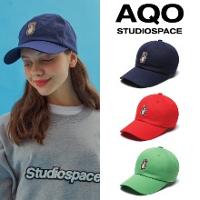 [AQOSTUDIO] AQO ERIC BEAR BALLCAP 3COLOR