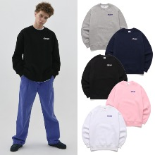 [BORNCHAMPS] CHMPS CREWNECK CETAMMT02 5COLOR